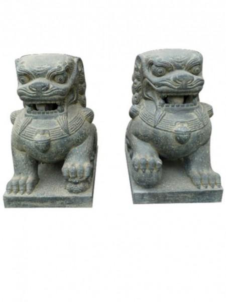 Tempellöwen Paar (2er-Set)