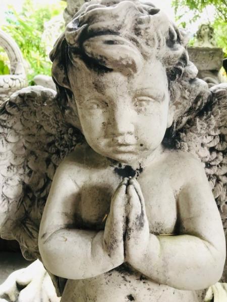 Betendes Engel Mädchen