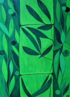 Green Bamboo - Original