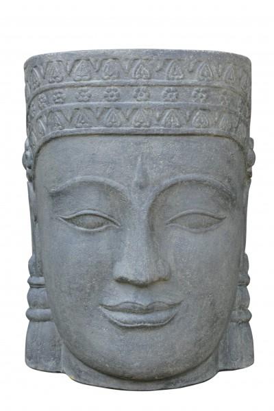 Khmer-Kopf als Wasserspiel - ca. 65cm