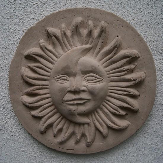 Sonne-Mond Scheibe