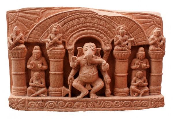 Ganesha Relief im Tempel