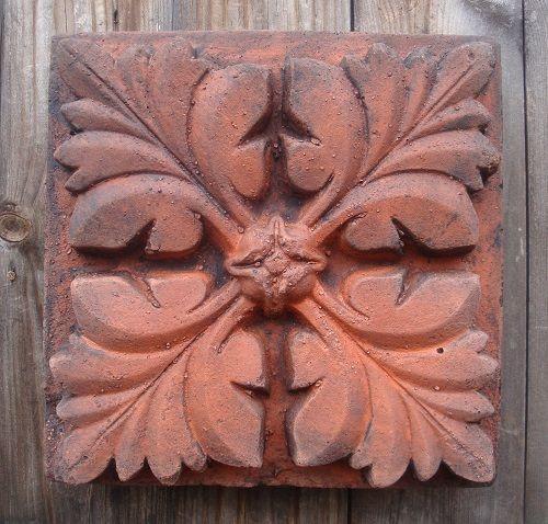 Gotisches Blatt Wandfliese