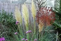 Chrysantheme aus Eisen