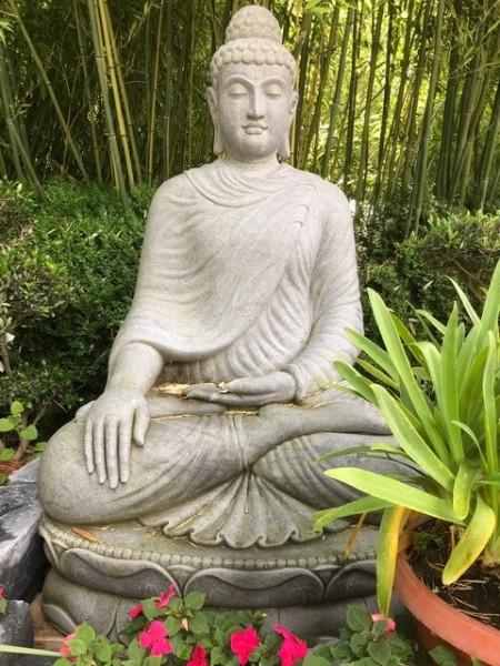 Großer Buddha - Erdberührung 160cm