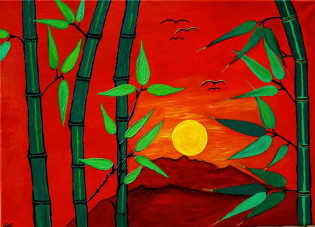Exotic Sunrise - Original