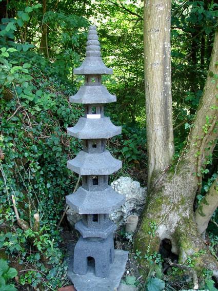 Japanische Pagode, 5 Ebenen