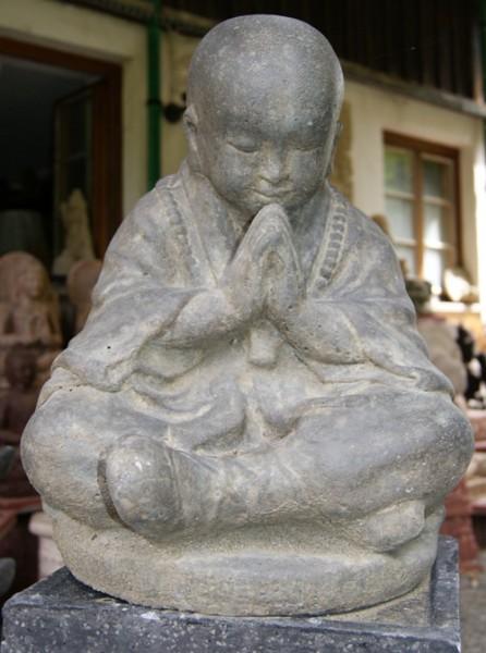 Sitzender Shaolinmönch