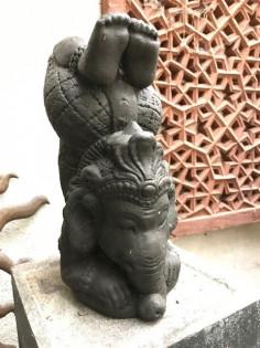 Kopfstand Ganesha  - 35cm