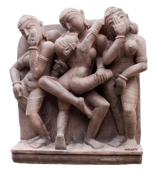 Mithuna, Tempel Relief
