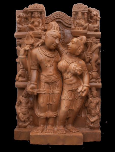 Shiva und Parvati ( Maithuna )