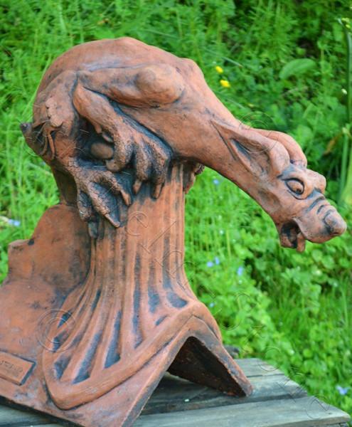 Dog Gargoyle Dachreiter