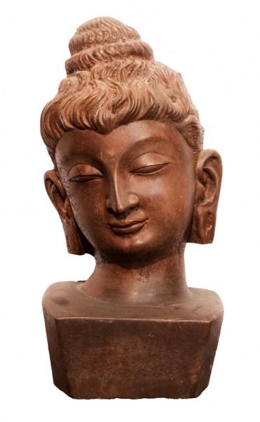 Buddha Kopf- dunkel