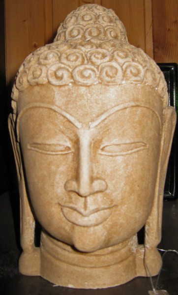 Buddhakopf aus Indien, 10 Jahrhundert