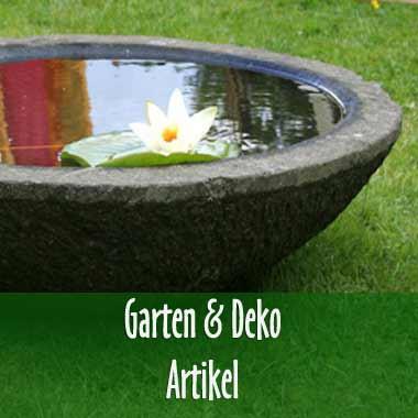 Garten & Deko Artikel