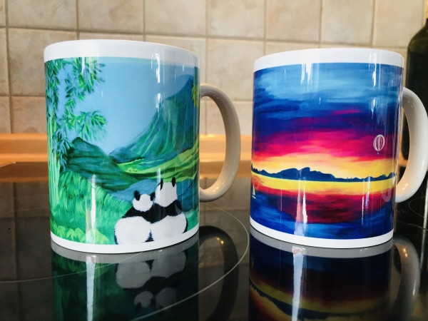 Kunst Tassen - magic cups