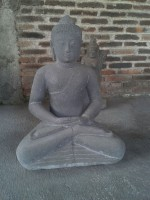 Dhyana-Mudra Buddha, Mudra der Meditation - 70cm