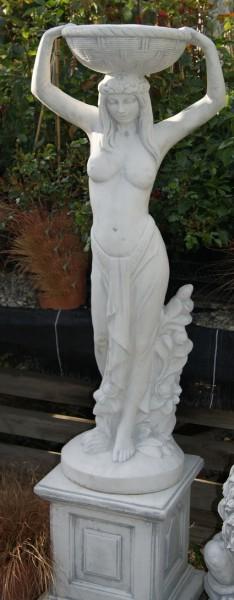 Blumenfrau mit Schale - 40cm