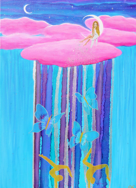 Fairy Dream painting - Original painting