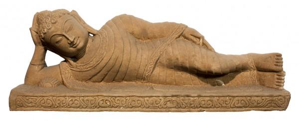 Buddha liegend