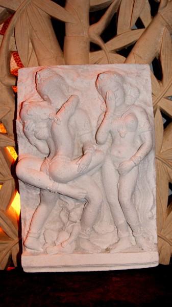 Relief Khajuraho, Indien 10 Jh. - 44cm