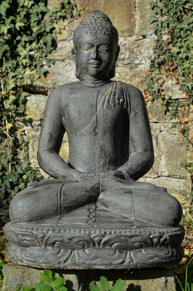 Buddha im Dhyana Mudra der Meditation - 80cm