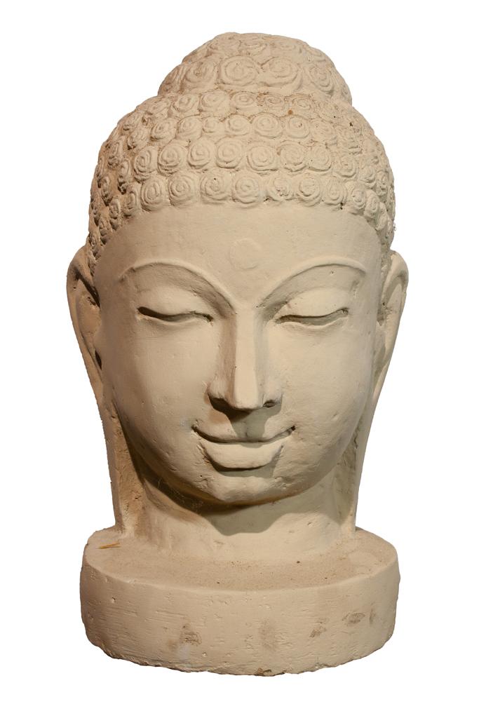 buddha kopf steinfigurenshop asiatische steinkunst f r haus und garten. Black Bedroom Furniture Sets. Home Design Ideas