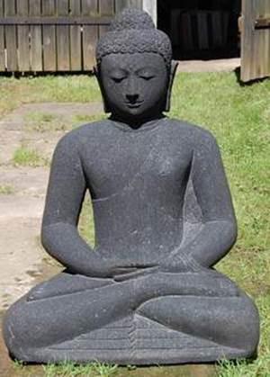Buddha Meditation- Lava- 82cm