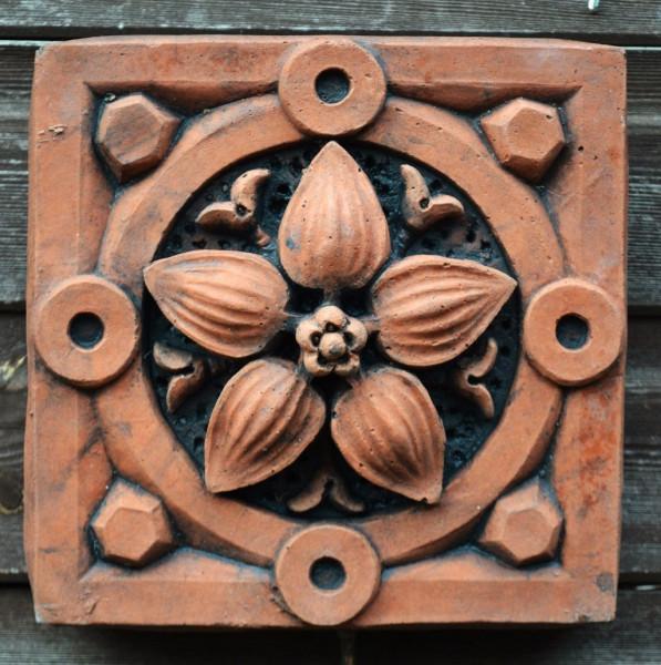 Viktorianische Wandfliese Lily