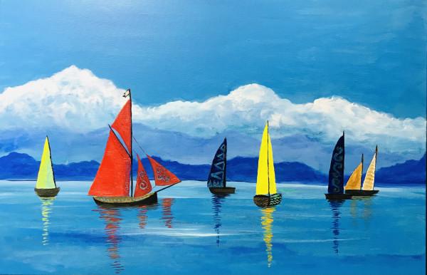 MAORI DREAM painting - Original