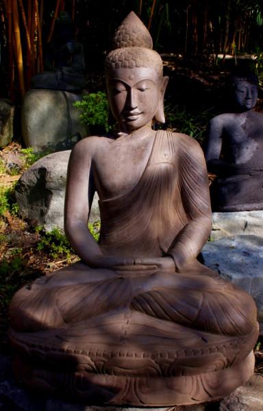 Buddha, Mudra der Meditation - 87cm