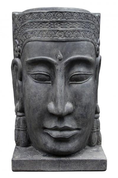 Khmer Kopf als Wasserspiel 147cm inkl. Sockel