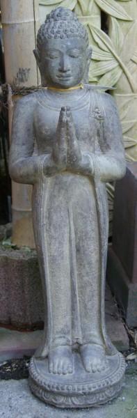 Stehender Buddha mit Begrüssungsgeste - 119cm