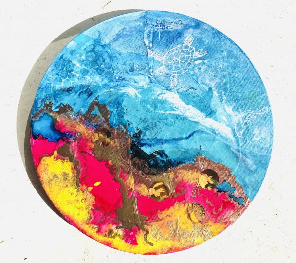 World of beautiful colors - original painting